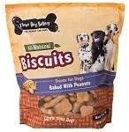 3Dog Bakery Peanut Butter Biscuit 2 lb