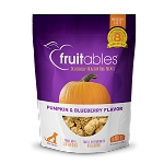 Fruitables Pumpkin and Blueberry Healthy Dog Treats