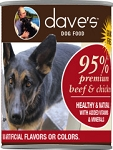 Dave's 95% Beef & Chicken Canine 13oz