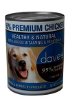 Dave's 95% Chicken Canned Dog Food 13 oz