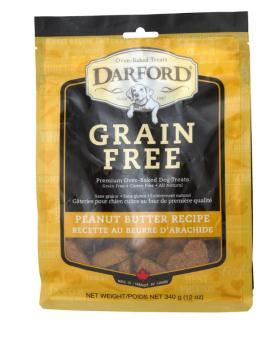 Grain Free P'nut Butter Treats by Darford