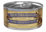 Hound & Gatos Lamb, Chicken, Salmon for Cats 5.5oz