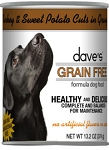 Dave's Grain Free Turkey & Sweet Potato in Gravy 13.2 oz