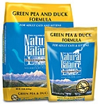 Natural Balance Green Pea & Duck 10 lbs (Discontinued Item)