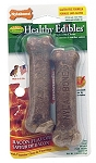 Nylabone Healthy Edibles Bacon Bone Petite 2 pk