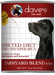 Dave's Restricted GF Diet Farmyard Blend for Dogs 13oz