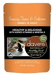 Dave's Saucy Tuna & Salmon Pouch 2.8 oz