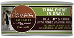 Dave's Grain Free Tuna Entree in Gravy 5.5 oz