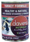 Dave's Turkey Can Cat Food 12.5 oz