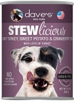 Dave's Stewlicious Grain Free Turkey, Sweet Potato & Cranberry Stew 13 oz