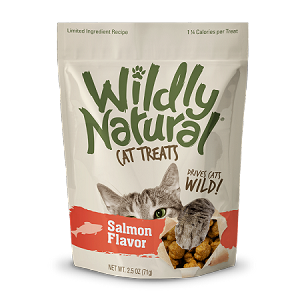 Fruitables Wildly Natural Salmon Cat Treats 2.5oz