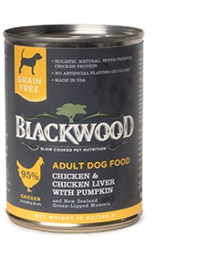 Blackwood Chicken & Chicken Liver w/Pumpkin 13oz