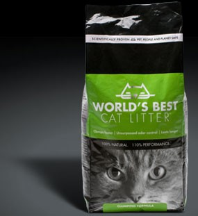 World's Best Cat Litter Clumping 7lbs
