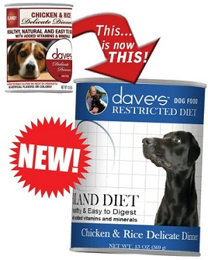 Dave's Delicate Dinner Bland Diet Chicken & Rice 13 oz