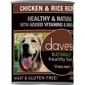 Dave's Chicken & Rice Canned Dog Food13 oz