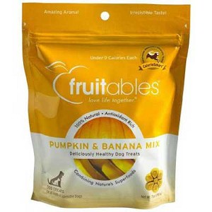 Fruitables Pumpkin & Banana Crunchy Baked Treats  7oz