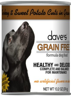 Dave's Grain Free Turkey & Vegetables in Gravy 13.2 oz