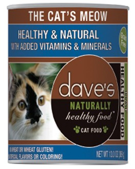 Dave's The Cat's Meow Grain Free cans13 oz
