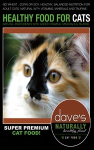 Dave's Naturally Healthy Cat Food 4 lb