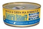 Natural Balance LID Pea & Duck for Cats 6 oz