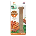 Nylabone Healthy Edibles Bacon Bone Giant