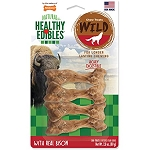 Nylabone Healthy Edibles Wild Bison Small Chew Treat 4 pack 2.8oz