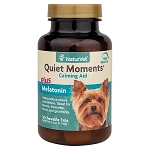 NaturVet Quiet Moments k-9 Calmng Aid 30 tabs